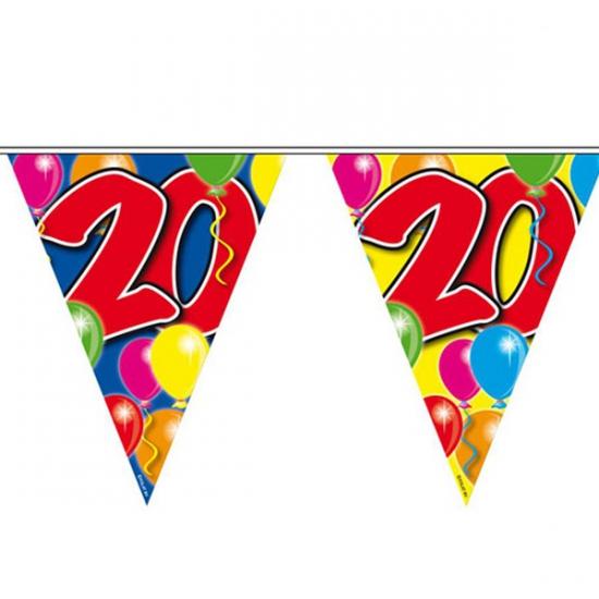 Leeftijd vlaggenlijnen 20 jaar