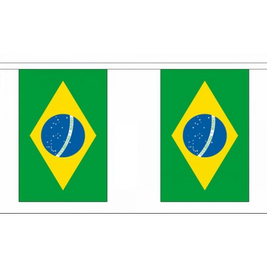 Luxe Brazilie vlaggenlijn 9 m