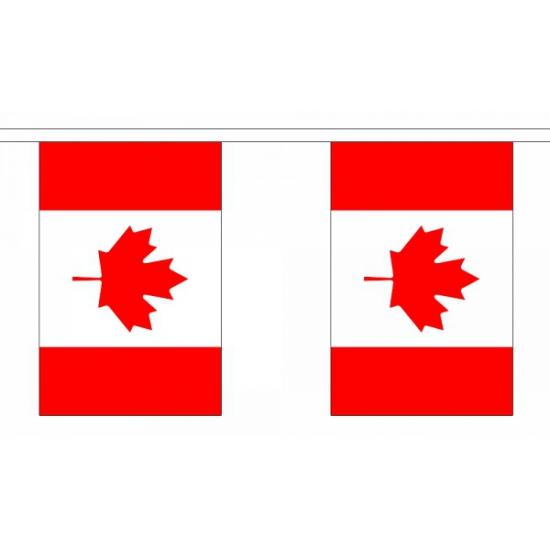 Luxe Canada vlaggenlijn 9 m