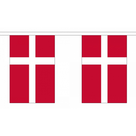 Luxe Denemarken vlaggenlijn 9 m