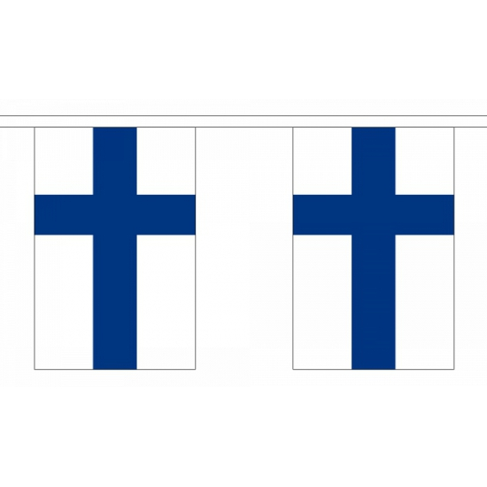 Luxe Finland vlaggenlijn 9 m
