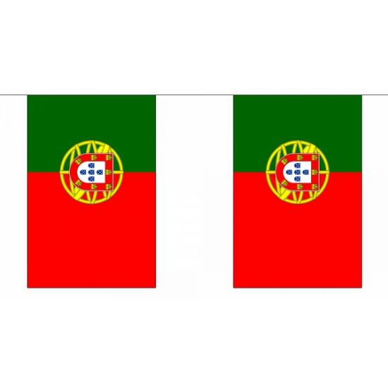 Luxe Portugal vlaggenlijn 9 m