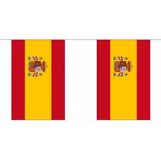 Luxe Spanje vlaggenlijn 9 meter
