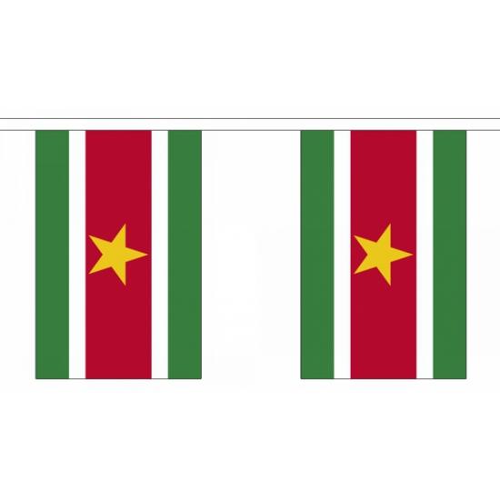 Luxe Suriname vlaggenlijn 3 m