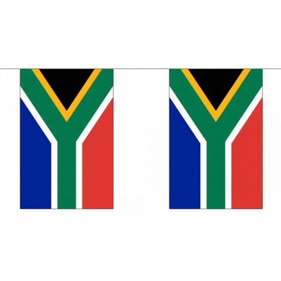Luxe Zuid afrika vlaggenlijn 9 m