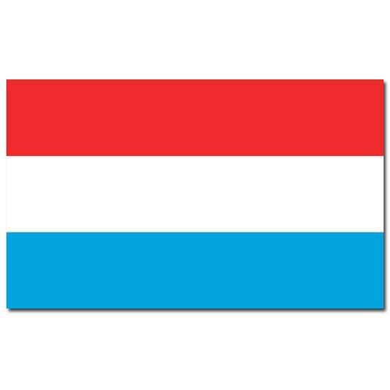 Luxemburg vlaggen