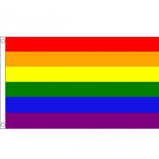 Mega vlag Regenboog 150 x 240 cm