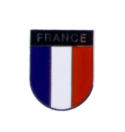 Metalen Franse vlag pin