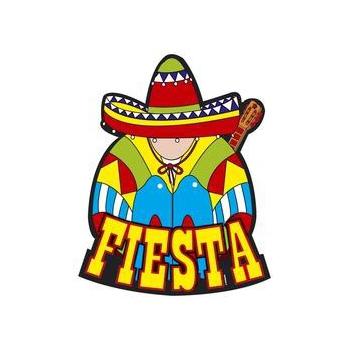Mexicaanse decoratie borden Fiesta