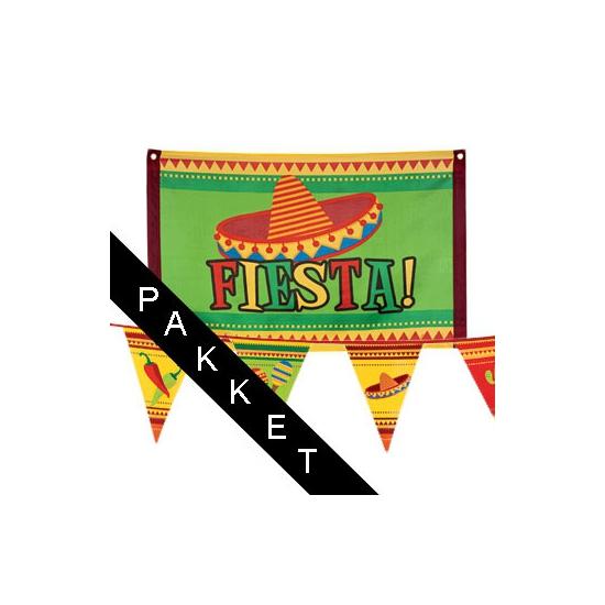 Mexicaanse fiesta versiering pakket
