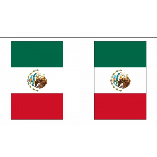 Mexico vlaggenlijn