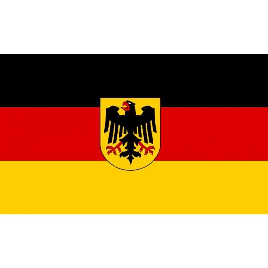 Mini vlag Duitsland 60 x 90 cm