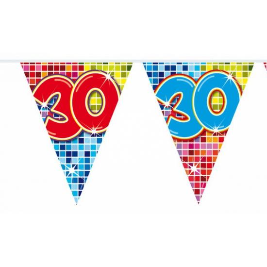 Mini vlaggenlijn 30 jaar