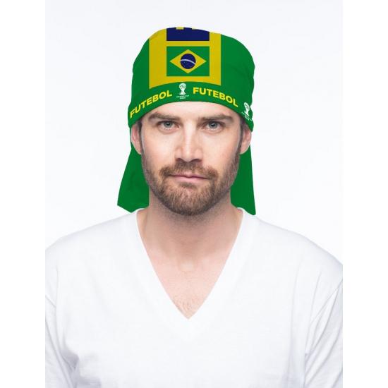 Multifunctionele bandana Brazil