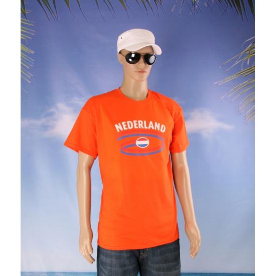 Nederland shirt oranje voor volwassenen