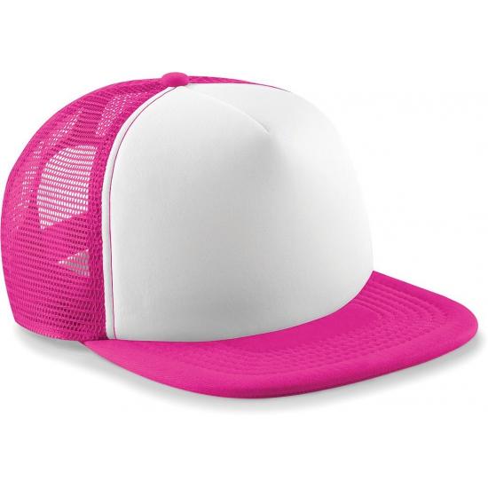 Neon fuchsia baseballcap