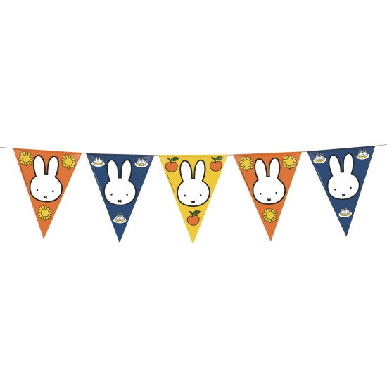 Nijntje thema kinderfeest vlaggenlijn