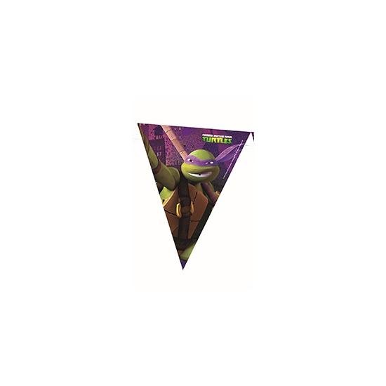 Ninja Turtles decoratie vlaggenlijn 360 cm