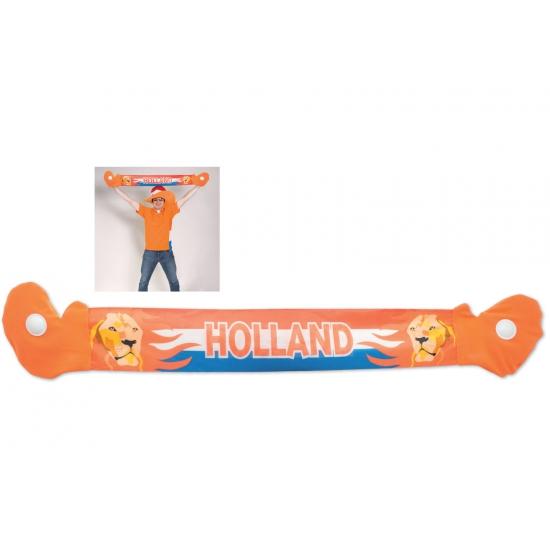 Oranje fan shawl Holland met leeuw
