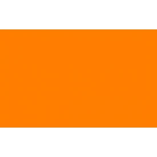 Oranje polyester vlag 150 x 90 cm