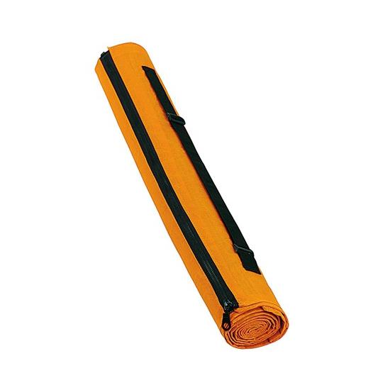 Oranje strandmat met draagriem