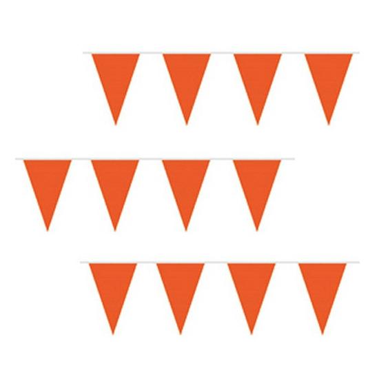 Oranje vlaggenlijnen voor de beste prijs