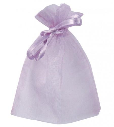 Organza zakjes in paarse kleur