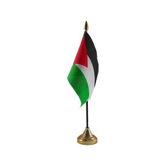 Palestina tafelvlaggetje inclusief standaard