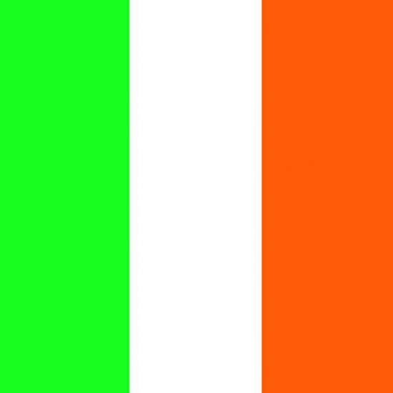 Papieren servetten Ierse vlag