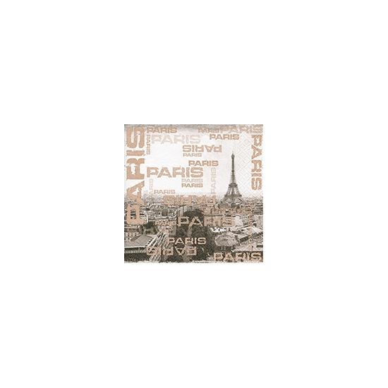 Parijs servetten Eiffeltoren 20 stuks
