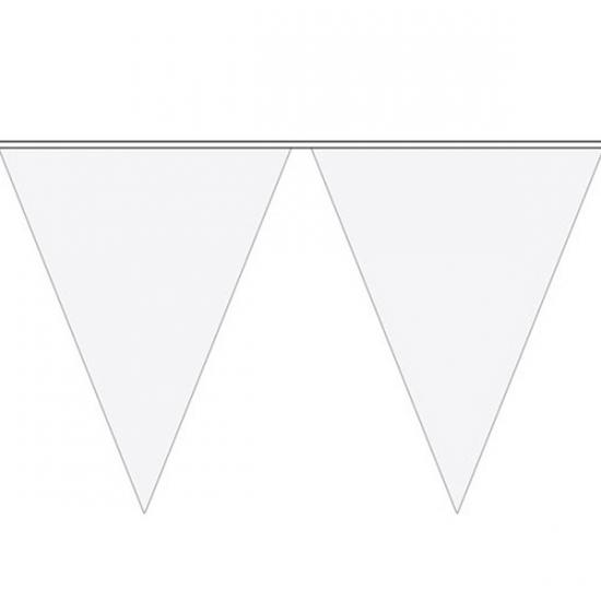 Party vlaggenlijn wit