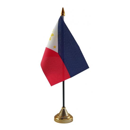 Philipijnse tafelvlag met standaard