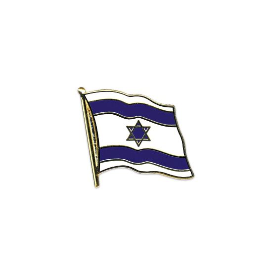 Pin speld vlag Israel 20 mm