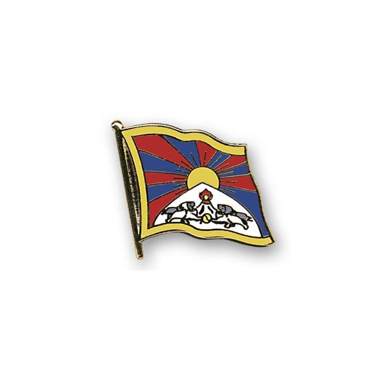 Pin speld vlag Tibet 20 mm