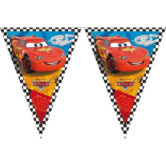 Plastic Cars vlaggenlijn 3 meter