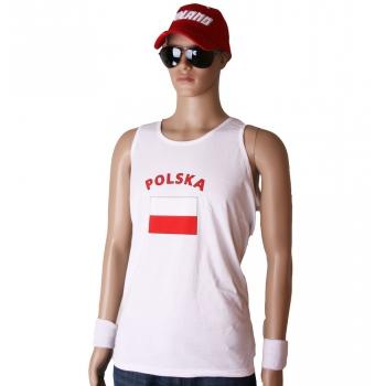 Polen vlaggen tanktops