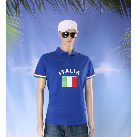 Poloshits met Italiaanse vlag