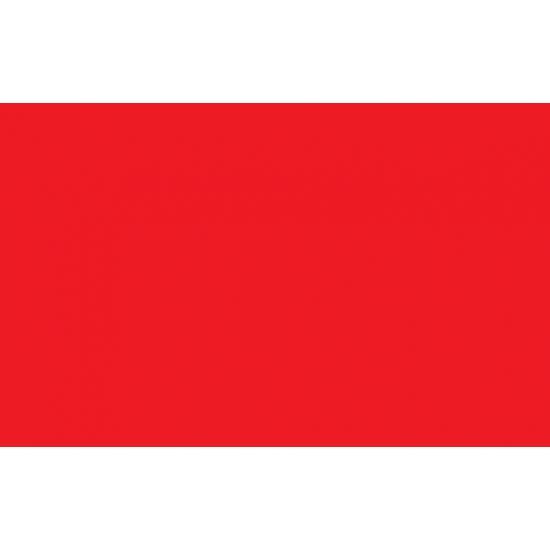 Polyester vlag in de kleur rood