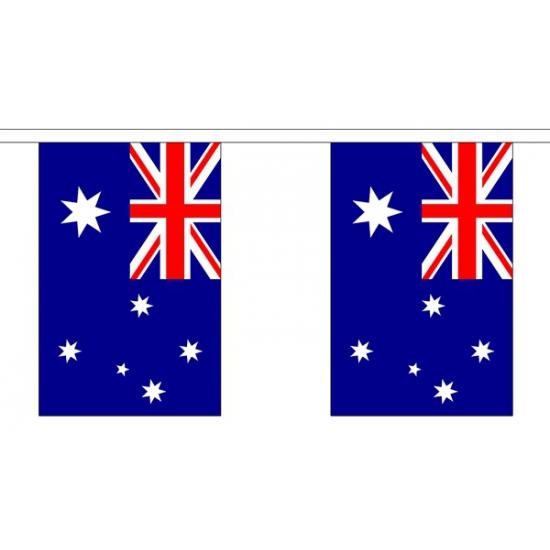 Polyster vlaggenlijn Australie 3 m