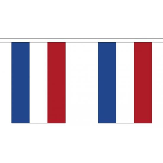 Polyster vlaggenlijn Nederland 3 m