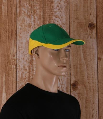 Racing pet groen met geel