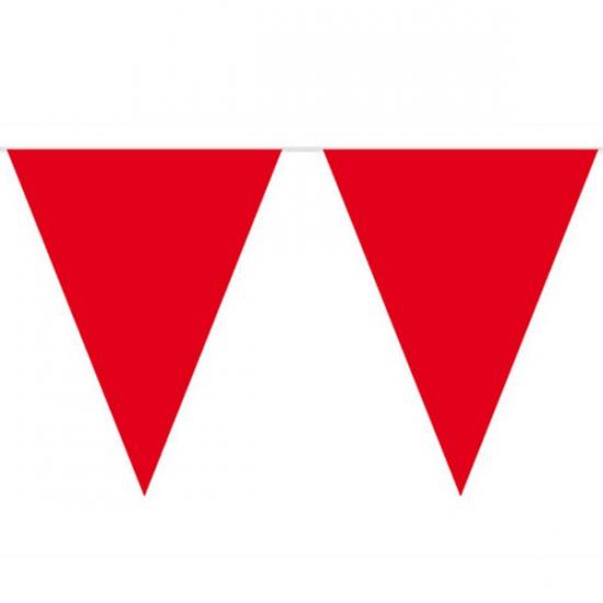 Rode vlaggenlijnen