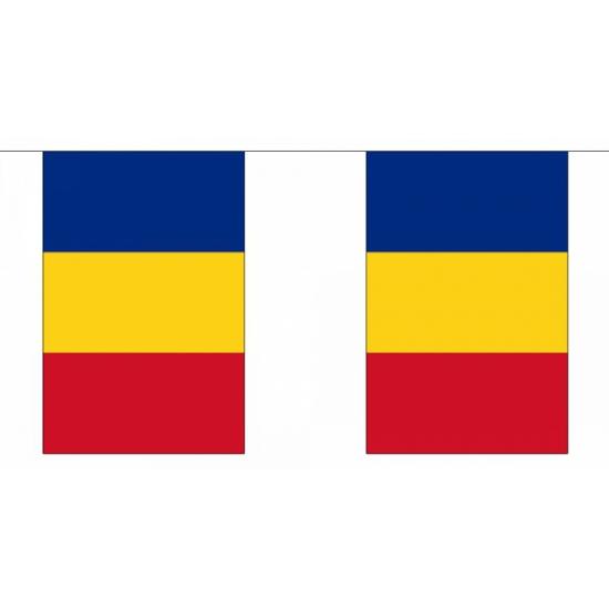 Roemenie vlaggenlijnen