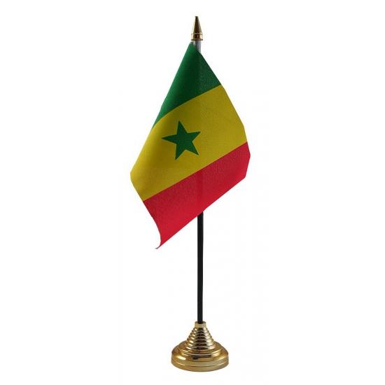 Senegalese tafelvlag met standaard