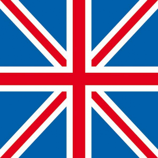 Servetten Engeland 20 stuks
