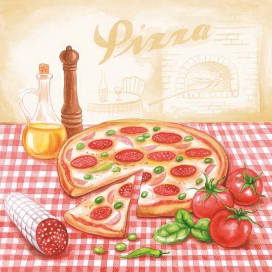 Servetten pizza 20 stuks