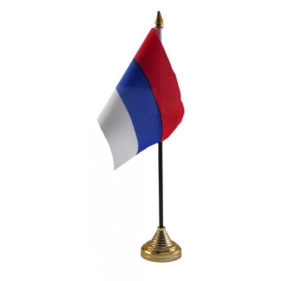 Servische tafelvlag met standaard