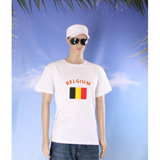 Shirts met vlag van Belgie