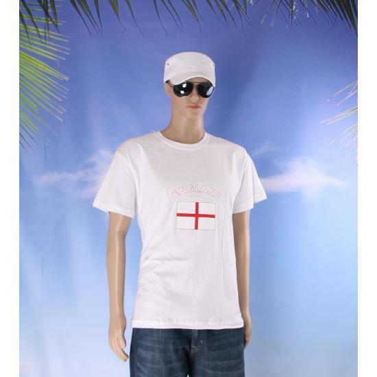 Shirts met vlag van England