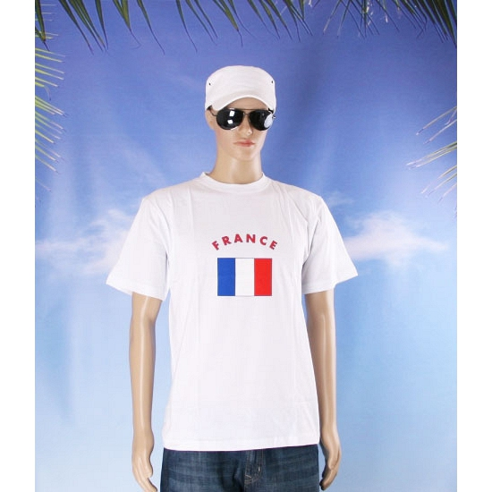 Shirts met vlag van Frankrijk